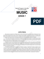 Music SPA 7 Module and Cg