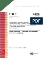 T-REC-Y.3516-201709-EN Cloud computing – Functional architecture of inter-cloud computing