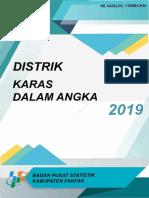 Kecamatan Karas Dalam Angka 2019