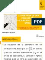 SEMANA1_LA DERIVADA DE UNA FUNCIÓN REAL, PROPIEDADES (1)