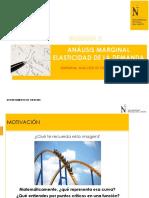 SEMANA 2_PPT_Análisis Marginal y Elasticidad de la demanda