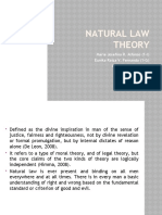 13088953 Natural Law Theory