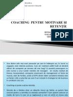Coaching pentru motivare și retenție