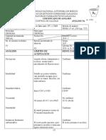 certificado de análisis 1826