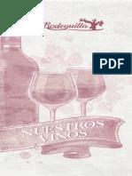 Carta Vinos La Bodeguilla 2020