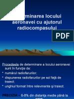 14.Determinarea locului ac cu radiocompasul