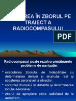 12.Folosirea radiocompasului