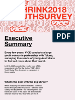 The Big Shrink - 2018 Youth Study
