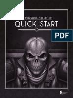 SLA Industries 2nd Edition Quick Start