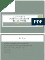 NZ3 Attributive WC Translation
