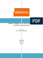 Case Study on WorldCom