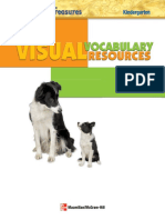 Visual Vocabulary Resources (Kindergarten)