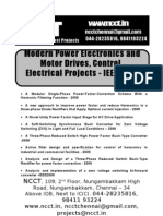 44692215 Electrical Project Titles 2009 2010 NCCT Final Year Projects
