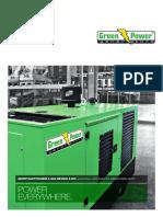 Greenpower Gas generator