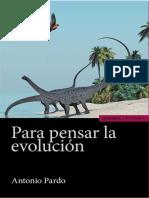 Para pensar la evolución