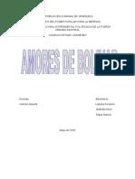 AMORES DE BOLIVAR