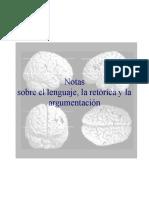Notes sobre neurología lenguaje retorica y argumentación