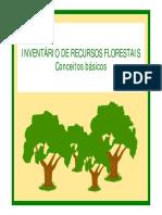INVENTÁRIO DE RECURSOS FLORESTAIS