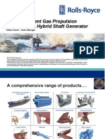 Energy Efficient Gas Propulsion Systems with Hybrid Shaft Generator Tobias Haack Sales Manager - PDF Free Download