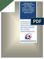 Plan de Trabajo Revisado Regionalización FPF - Título e Índice
