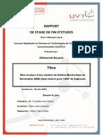 Mise en place d'une solution de Gestion Electronique de Documents (GED).pdf