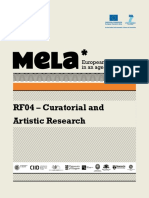 curatorial and artistic research