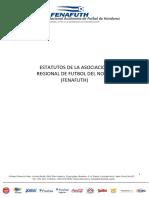 Estatutos Regional de Futbol Del Norte