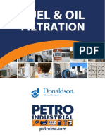 PETRO Filtration Donaldson Fuel and Oil