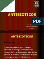 Antibióticos (medicina interna)