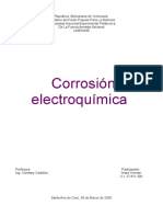 CORROSION ELECTROQUIMICA INFORME