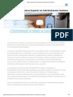 Estudiar Tecnicatura en Administración Hotelera _ Gato Dumas