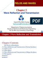 Chapter 3 Wave Reflection and Transmission