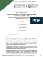 Dire de l'abbé Sieyès, sur la question du Veto royal, à la séance du 7 septembre 1789 - Wikisource.pdf