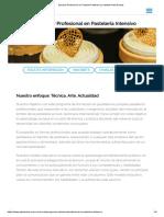 Estudiar Profesional en Pastelería Intensivo _ Instituto Gato Dumas