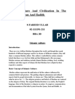 Islamic culture and civilization