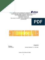 CONTABILIDAD DEL SECTOR PUBLICO