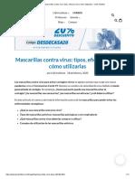Mascarillas contra virus_ tipos, eficacia real y cómo utilizarlas – LISA Institute