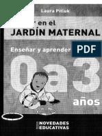 Educar en El Jardin Maternal 0 a 3_ Pitluk