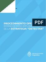 Procedimientos Operativos Detectar