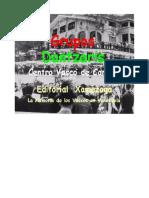 Folklore -Grupo de Dantzaris -Centro Vasco Caracas - Presencia vasca en el floklore venezoelano