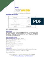 Ficha técnica DES-AMON