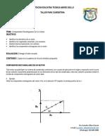 GRADO DECIMO - FISICA - COMPONENTES RECTANGULARES DE UN VECTOR (SEMANA 9)