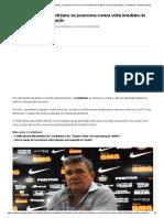 Em carta aberta, Corinthians se posiciona contra volta imediata do futebol e pede articulação _ corinthians _ Globoesporte asdfasdf