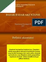 DASAR-DASAR AKUNTANSI