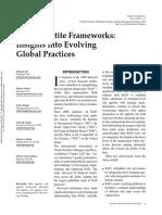 Risk Appetite Frameworks