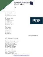 Hinário Evangélico - letras dos 500 hinos