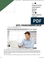 Aposte Nas Redes Sociais Para Alavancar Seu Negócio _ Blog - Frederico Abrahão