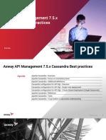 Cassandra Best Practices