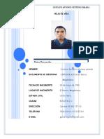 formato hoja de vida sencilla en blanco para descargar-018.doc