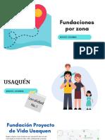 Fundaciones por zona de la ciudad de Bogotá (1)